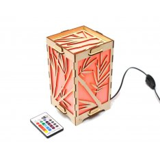Long Distance Lamp with Bamboo