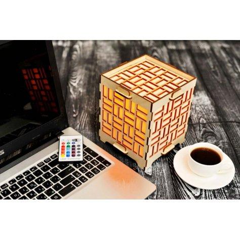 long-distance-friendship-lamp-with-geometric-rectangles-orange