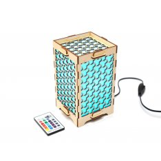 Long Distance Lamp With Honeycombs
