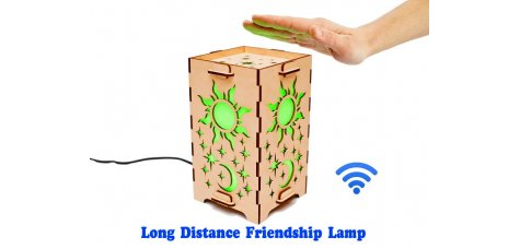 Long Distance Lamp Day and Night