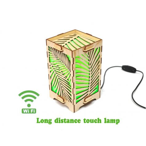 long-distance-lamp-palm-leaves-green