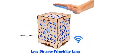 Long Distance Lamp with Stars