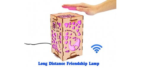 Long Distance Love Lamp To The Moon and Back
