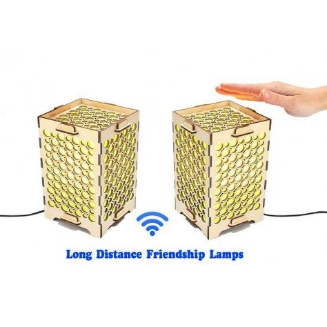 Set of 2 Long Distance Friendship Lamp Holes