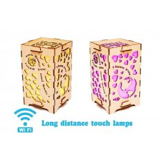 Set of 2 Touch Lamps To The Moon and Back